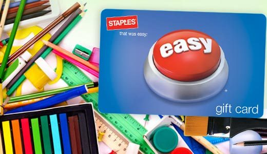 Staples: 50% off Gift Card Deal - Coupons and Deals - SavingsMania