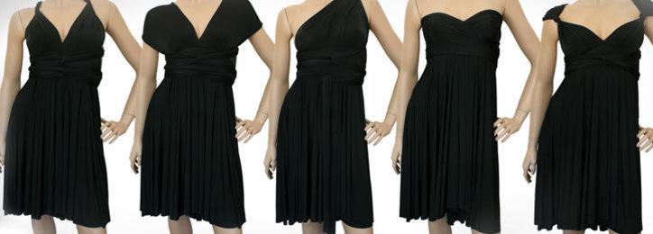 Wrap Magic Skirt Convertible Dress 24